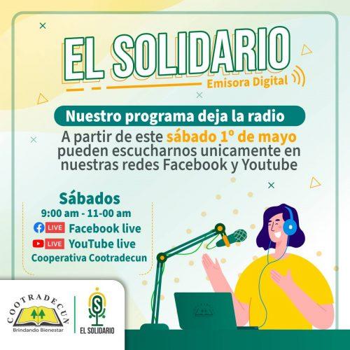 el solidario poster